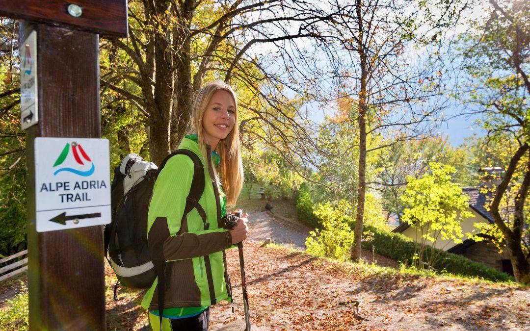 With my girls only! Alpe-Adria-Trail