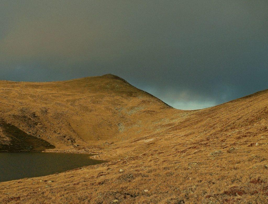 Panoramaweg Südalpen Sonnenuntergang