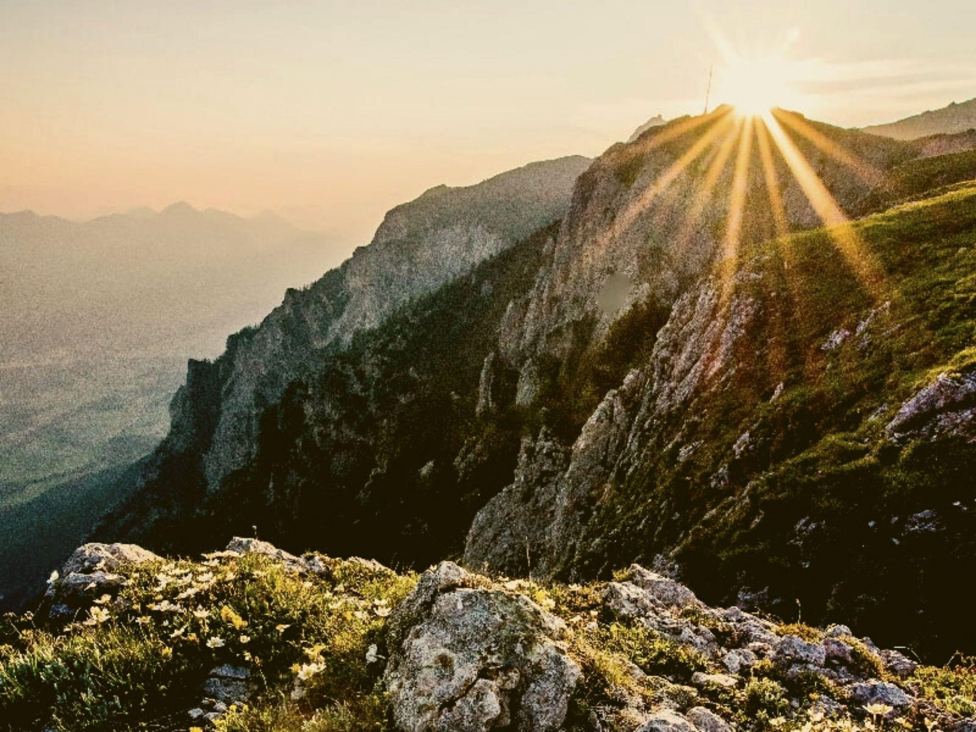 Am Bergrücken der Nockberge