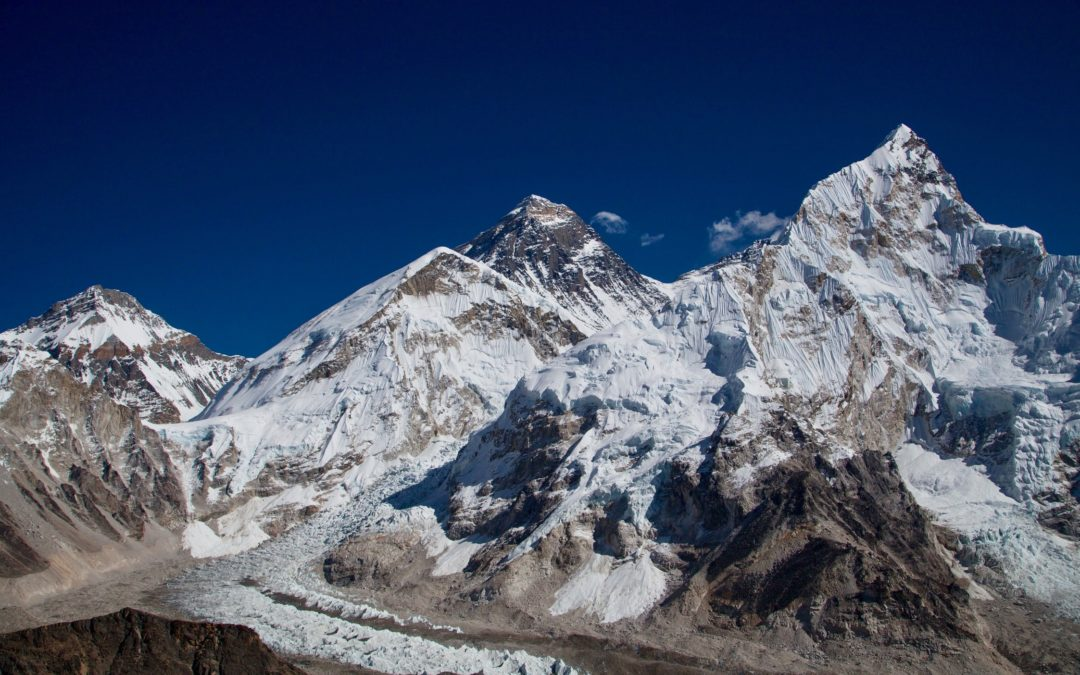 On the way to Mount Everest Base Camp