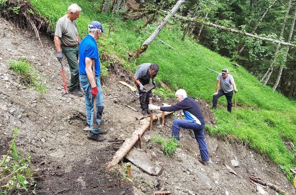 Trail maintenance and upkeep
