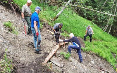 Erhaltung und Pflege von Trails