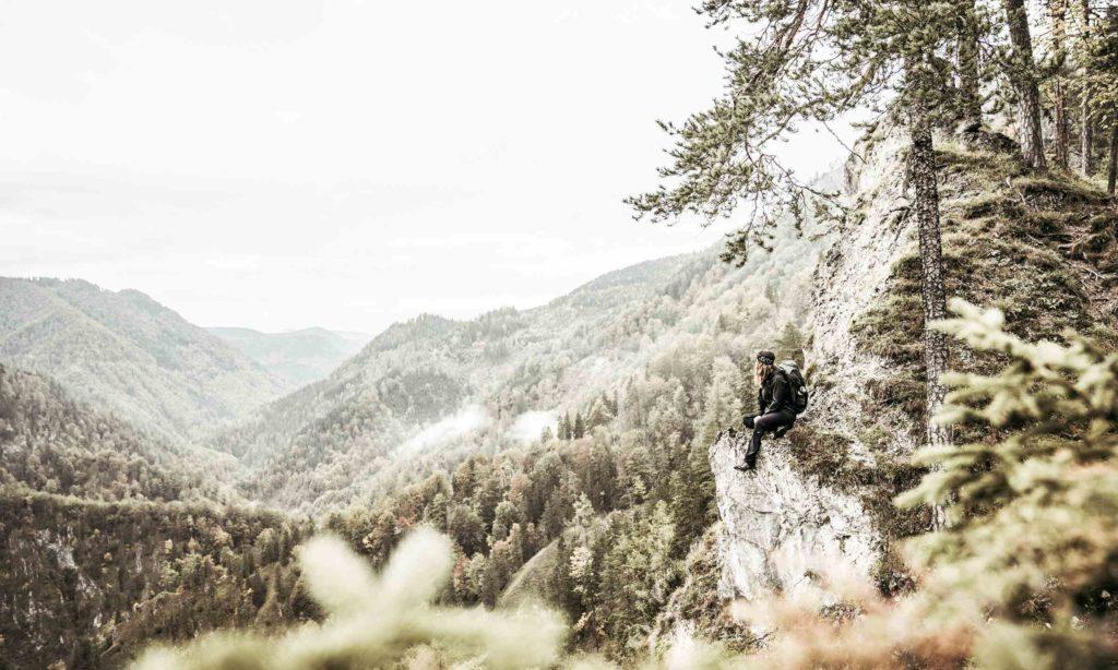Luchs Trail Gebirge Aussicht
