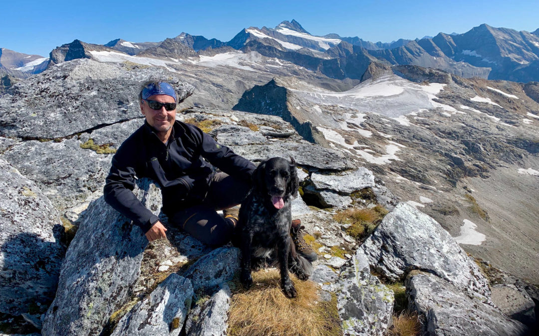 Hiking with your dog on the Alpe-Adria-Trail
