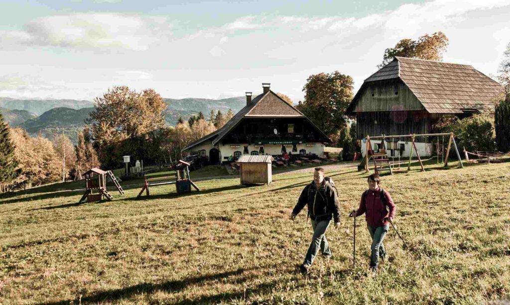 Dobratsch Rundwanderweg Etappenstart