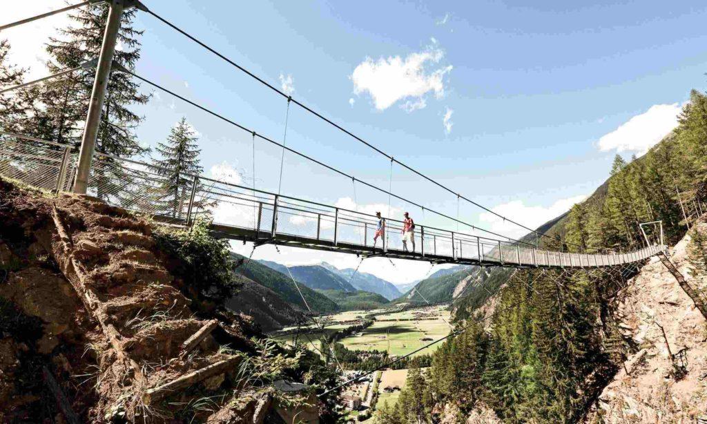 Hängebrücke am Oetztaler Urweg