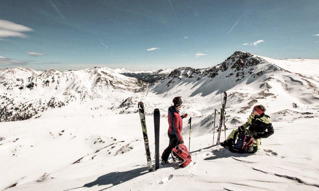 Nockberge-Trail Skitour Winter