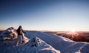 Nockberge-Trail Skitour